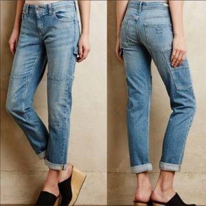 Anthropologie pilcro letterpress carpenter jeans